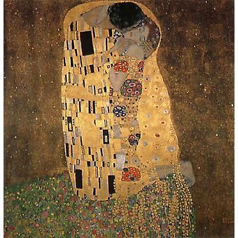 Kuss, Gustav Klimt, 50x50cm