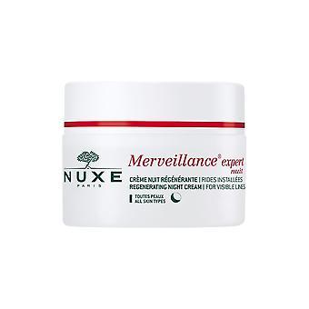 NUXE Merveillance ekspert anti-rynke regenererende Night Cream 50 ml