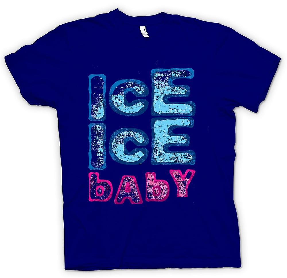 Hombres camiseta-vainilla Ice - Ice Ice Baby - gracioso