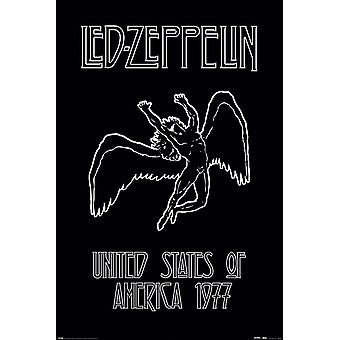 Led Zeppelin poster Icarus