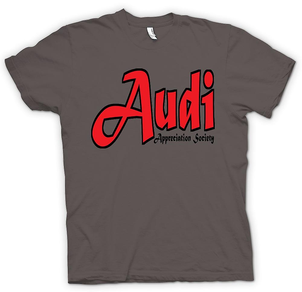 Womens T-shirt - Audi Appreciation Society