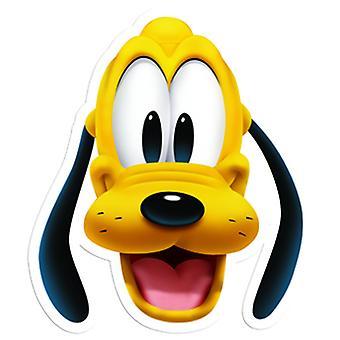 Maschera di carta di Plutone
