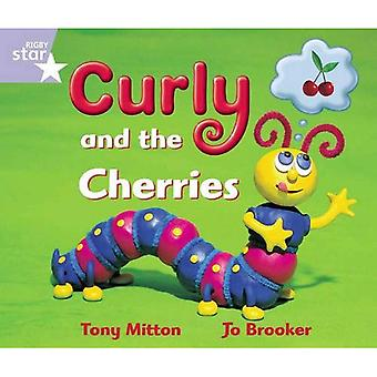 Rigby Star Guided Reception: Lilac Level: Curly and the Cherries Pupil Book
