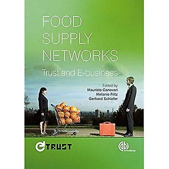 Voedsel spanningsnetten: Vertrouwen en E-business