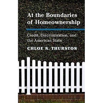 På grænserne for Homeownership: kredit, diskrimination og den amerikanske stat