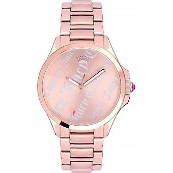 Juicy Couture 1901278 Ladies'' Jetsetter Rose Tone Watch