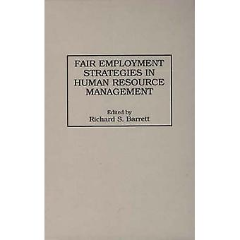 Stratégies pour l'emploi équitable dans la gestion des ressources humaines par Barrett & S. Richard