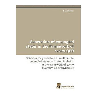Generation of Entangled States in the Framework of CavityQed by Gonta & Denis