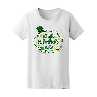Happy St. Patrick's Day. Vakantiewoningen Tee mannen-beeld door Shutterstock