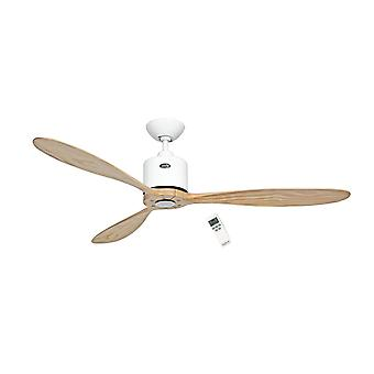 DC Ceiling fan Aeroplan Eco White / Wood 132cm / 52