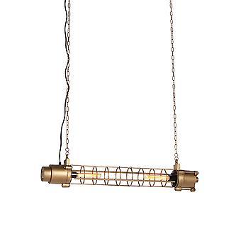 QAZQA lámpara colgante industrial oro antiguo-Fuze