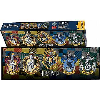 Harry Potter Crests slim 1000 piece jigsaw puzzle     900mm x 300mm     (nm)
