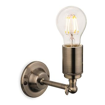 Firstlight - 1 Light Indoor Wall Light Antique Brass - 7650AB