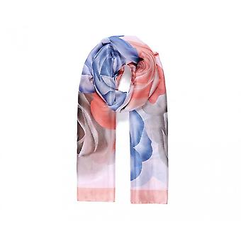 Intrigue Womens/Ladies Rose And Lily Silk Like Scarf