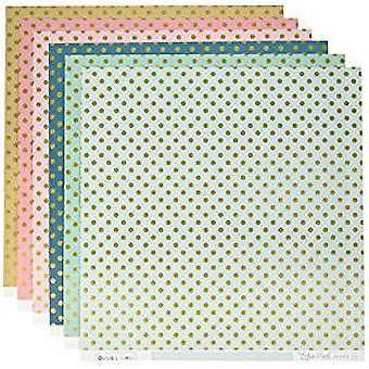 Echo Park Paper Gold Foil 12x12 Inch Collection Kit (DS16007)