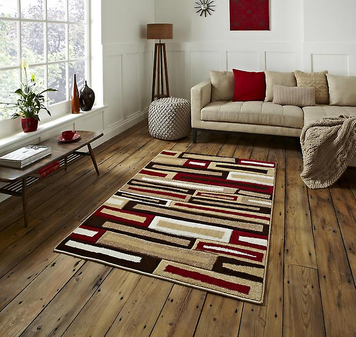 Rugs - Mantra FR40 - Beige & Red