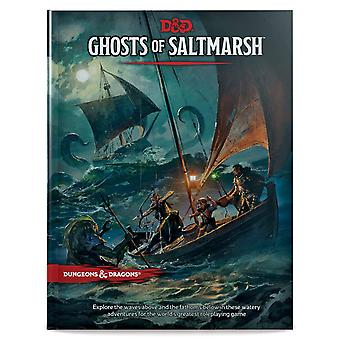 Dungeons & Dragon es RPG-Geister des Saltmarsh Book