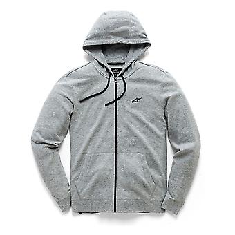 Alpinestars Grey Heather Bona Fide II Zip Hoody