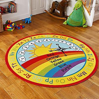 Vivero Rainbow alfombras educativas en multi