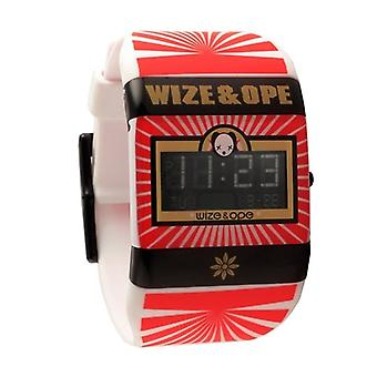 Wize and Ope Open Your Mind  White Digital  Watch WO-OYM-1