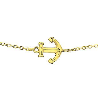 Anchor - 925 Sterling Silver Chain Bracelets - W23265X