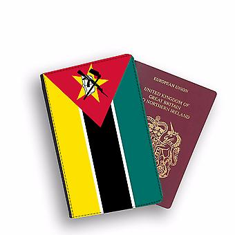 MOZAMBIQUE Flag Passport Holder Style Case Cover Protective Wallet Flags design