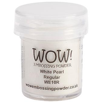 Wow! Embossing Powder 15Ml White Pearl Wow We10r