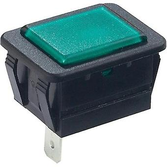 Indicator switch Green, Black Arcolectric C0480A