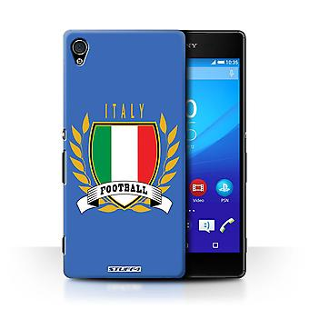 STUFF4 Case/Cover for Sony Xperia Z4v/E6508/Italy/Italian/Football Emblem