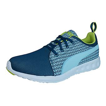 PUMA Carson Runner stricken Damen Running Trainer / Schuhe - blau