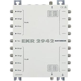 SAT unicable cascade multiswitch Kathrein EXR 2942 Inputs (multiswitches): 9