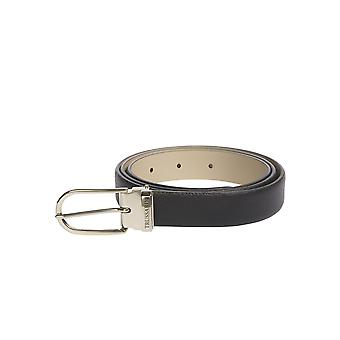 Trussardi woman belt buckle Adjustable, 100% genuine leather Calf-90 Dollar-100x2, 40x0 .20 Cm
