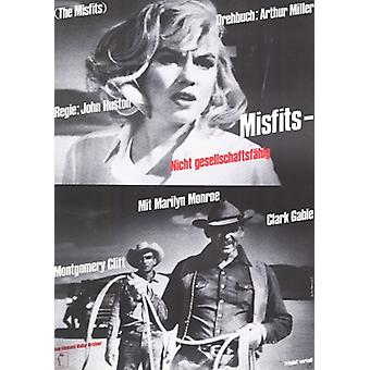 The Misfits Movie Poster (11 x 17)