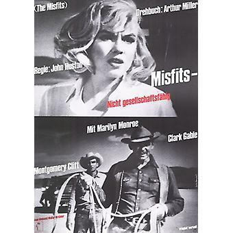 De filmposter Misfits (11 x 17)