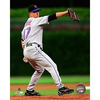 Tom Glavine 300e victoire MLB à Wrigley Field 5 août 2007 Photo Print