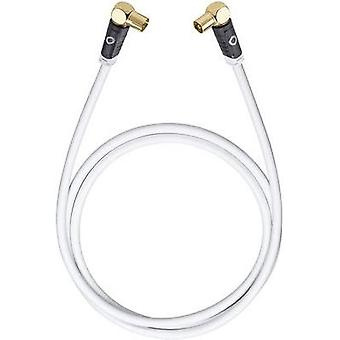 Antennas, SAT Cable [1x Belling-Lee/IEC plug 75Ω - 1x Belling-Lee/IEC socket 75Ω] 5.10 m 120 dB gold plated connectors W