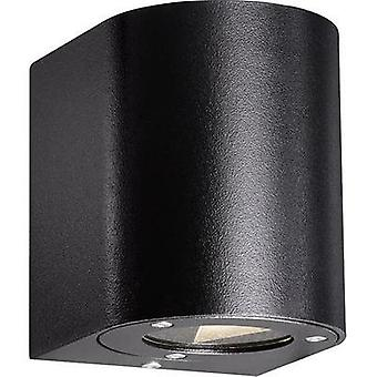 LED outdoor wall light 10 W Warm white Nordlux Canto 77571003 Black