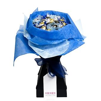 Pascua - Bouquet de Chocolate - azul