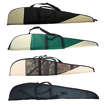 Heritage gun rifle slip 49 inch zipped and padded gun cover fits scoped rifle