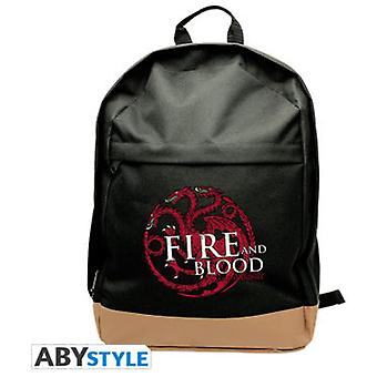 Abysse Game Of Thrones Backpack Targaryen (Toys , School Zone , Backpacks)