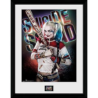 Selvmord Squad Harley Quinn godnatt innrammet samler trykk