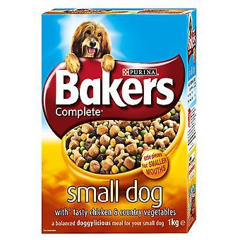 Bagere kødfulde måltider lille hund kylling 1kg