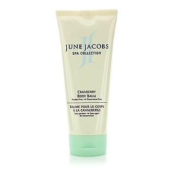 June Jacobs SPA Collection Cranberry Body Balm (Unboxed) 207ml/7oz