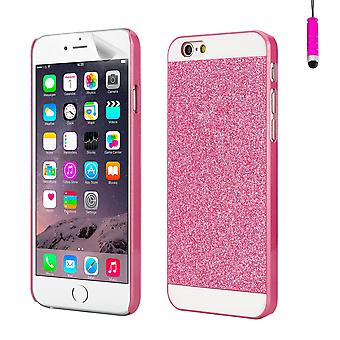 Glitter design case for Apple iPhone 6 6S - Pink