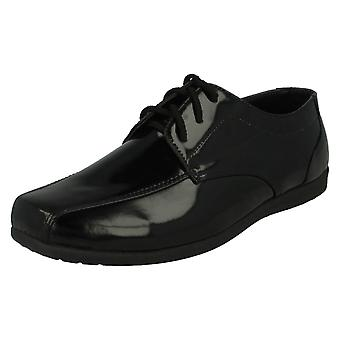 Boys JCDEES Lace Up School Shoes