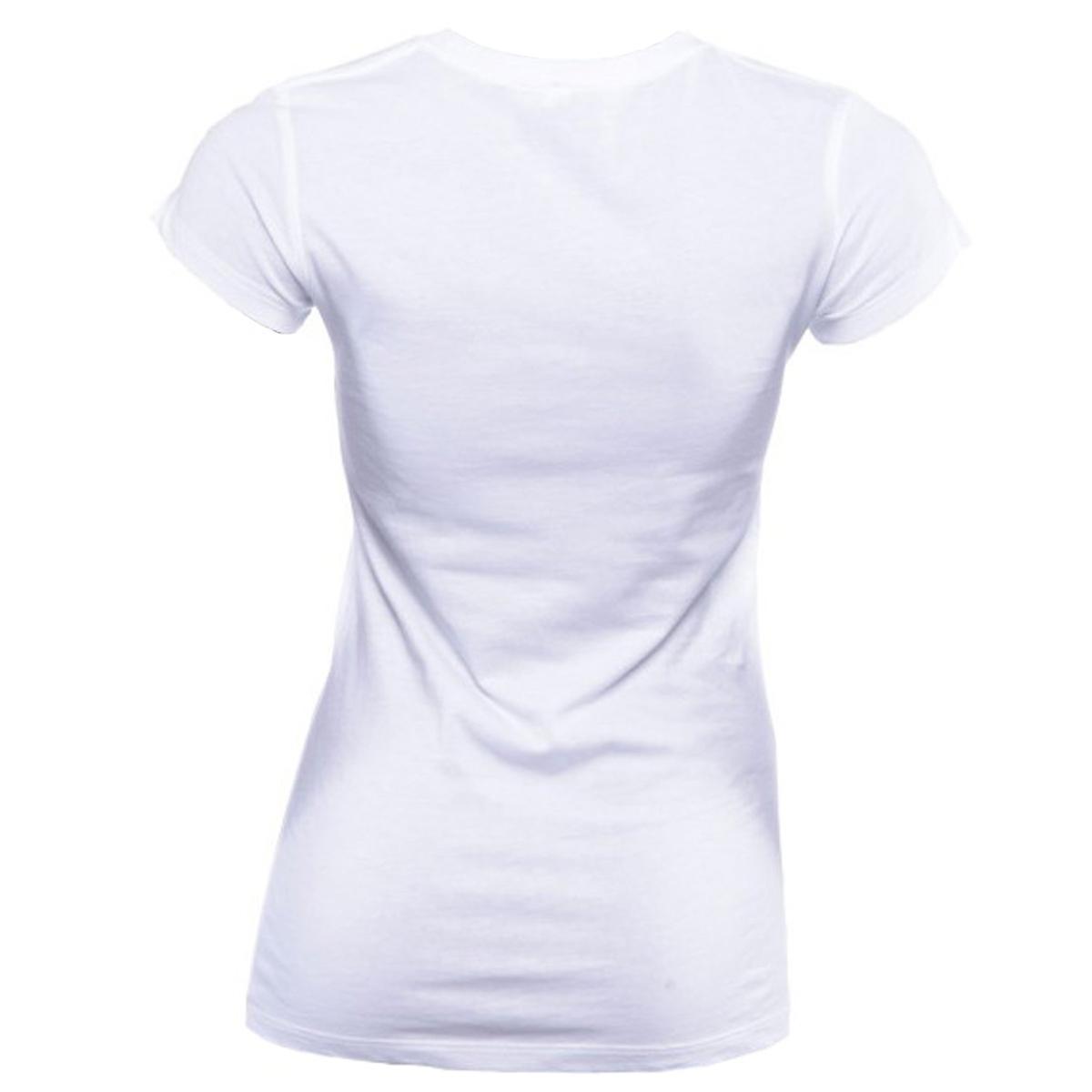 Jaco Women's HT Crew Neck T-Shirt - White/Cobalt