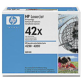 HP Q5942xd 20000páginas black toner cartridge and laser cartridge