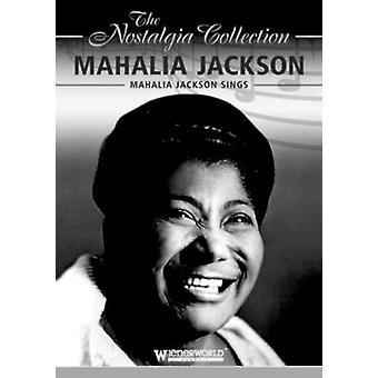 Mahalia Jackson - Mahalia Jackson synger [DVD] USA import