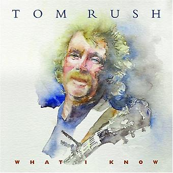 Tom Rush - hvad jeg vide [CD] USA importerer