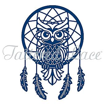 Tattered Lace wijze uil Dreamcatcher sterven